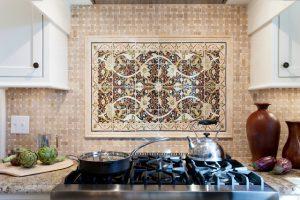کاشی آشپزخانه شیک ایرانی
