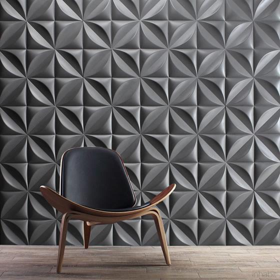 کاشی دیوار سه بعدی
