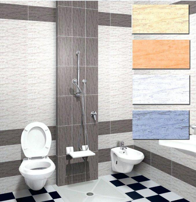 سرامیک کف توالت و حمام
